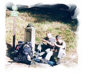 2003 - Grenzstein Tschechien