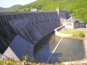 2008 - Edersee-Staumauer
