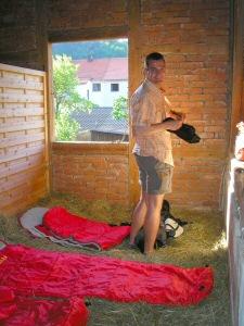 2008 - Schlafbox im Heuhotel