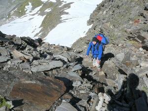 2010 - Nach dem Schnee die Steine