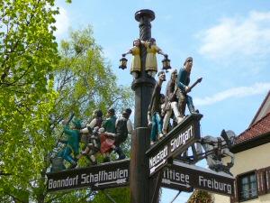 2012 - Wegweiser in Lenzkirch