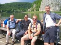 2011 - Fährfahrt über die Donau