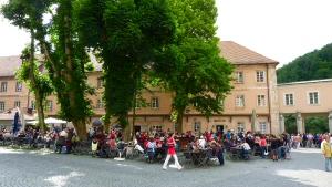 2011 - Hofgastgarten im Kloster Weltenburg