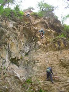 2013 - Einstieg in den Klettersteig
