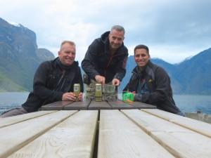 2015 - Mittagessen am Fjord