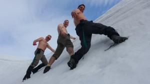 2015 - The-Trekker in der Eiswand