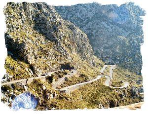 2005 - Serpentinen bei Sa Calobra