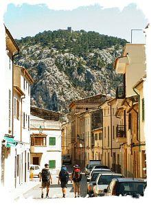 2005 - Blick auf Puig Santa Maria