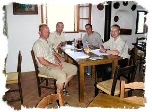 2005 - Abendbrot im Kloster