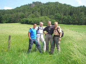 2007 - Start zum Geo-Rundweg