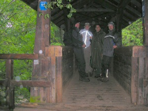 2007 - Überquerung der Wasserfälle