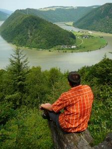 2009 - Schoko: Blick auf Schlögener Donauschlinge