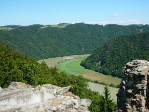 2009 - Blick von der Ruine Haichenbach
