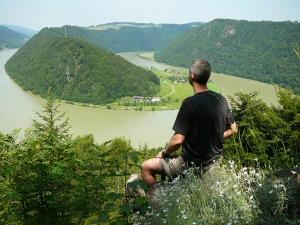 2009 - Oli: Blick auf Schlögener Donauschlinge