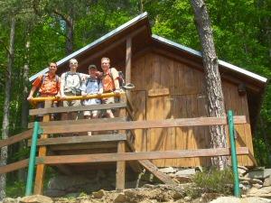 2009 - Fototermin an der Öhi-Hütte