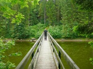 2009 - Brücke über Stausee