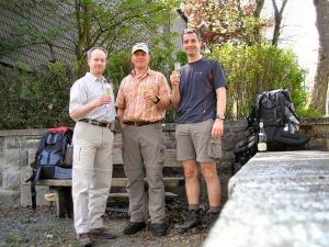 Gruppenfoto 2006: Jörg - Thorsten - Oli