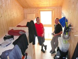 2010 - Schlafzimmer auf der Olperer Hütte