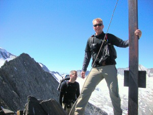 2010 - Am Gipfelkreuz