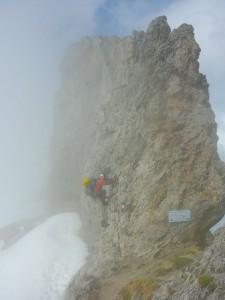 2013 - Klettern in den Wolken