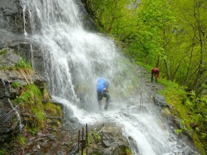 2015 - Durch den Wasserfall