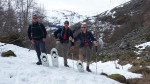 2015 - Erste Schneeschuhversuche