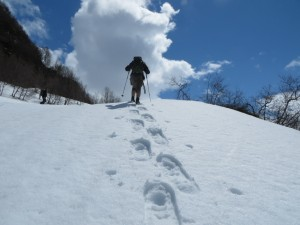 2015 - Bergauf mit Schneeschuhen