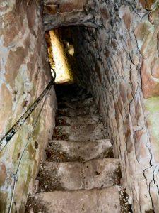 2016 - Treppe in der Burgmauer