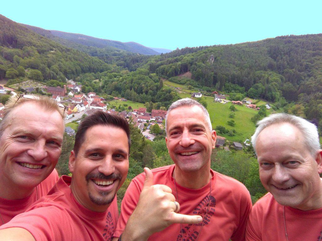Trekker über Schönau