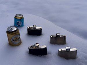 Eisgekühlte Getränke