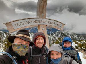 Gipfelfoto Techantinger Mittagskogel