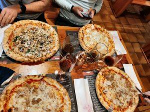 Pizza satt